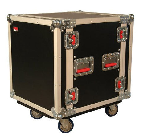 Gator 12U, 24-Inch Deep Audio Road Rack Case with Casters (G-TOUR12UCA-24D)
