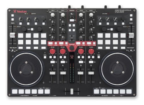 Vestax VCI-400 4 Channel USB DJ MIDI Controller with Soundcard