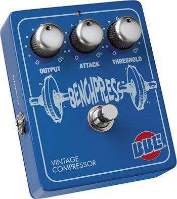 BBE Bench Press Vintage Compressor Guitar Effect Pedal with Nos Ca3080