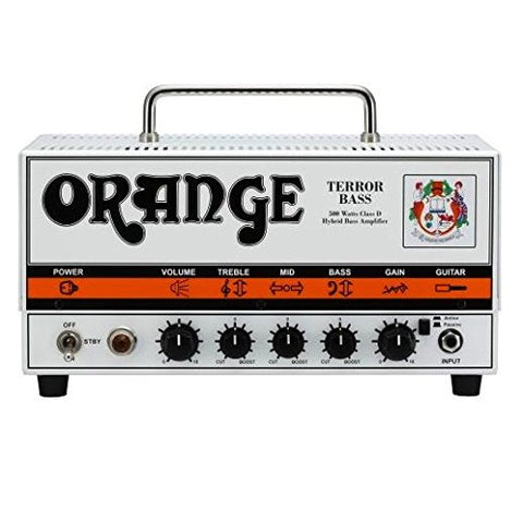Orange BT500H Bass Terror - 500 watt compact bass head with twin valve preamp (Refurb)