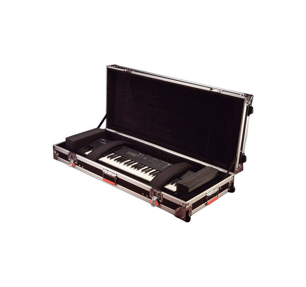 Gator 88 Note Road Case with wheels, Slim (G-TOUR 88 SLIM)