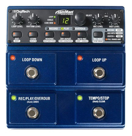 DigiTech JamMan Stero Looper JML2 Performance Loop Pedal (Refurb)