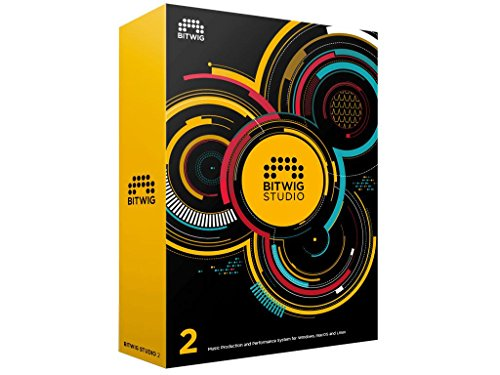 Bitwig Studio Music Production and Performance Multi-track Recording Software Version 2