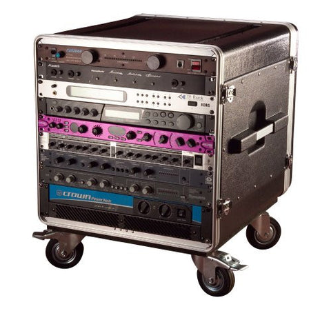 Gator 14U Rack Base w/ casters, for Console Audio Racks