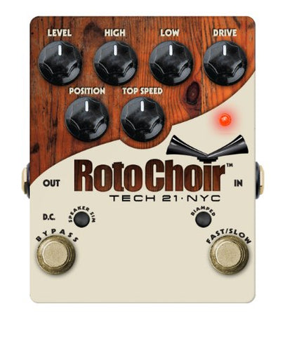 Tech 21 Roto Choir - SansAmp Rotary Speaker Emulator (Refurb)