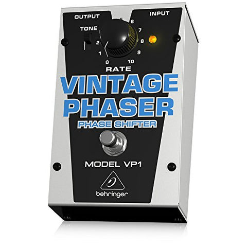 Behringer VINTAGE PHASER VP1 Authentic Vintage-Style Phase Shifter