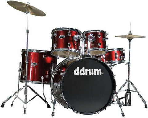 DDrum D2 Drum Set 5pc - Blood Red