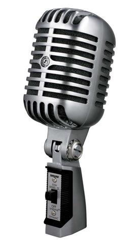 Shure 55SH Series II Iconic Unidyne Vocal Microphone (The Elvis Microphone) Refurb