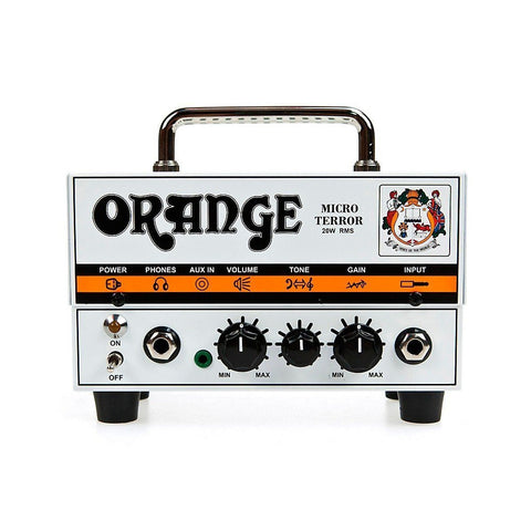 Orange Micro Terror 20-Watt Head Single channel, hybrid – valve pre amp with solid state power
