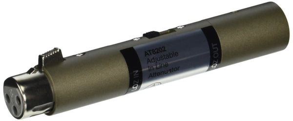 Audio-Technica AT8202 Adjustable In-line Attenuator