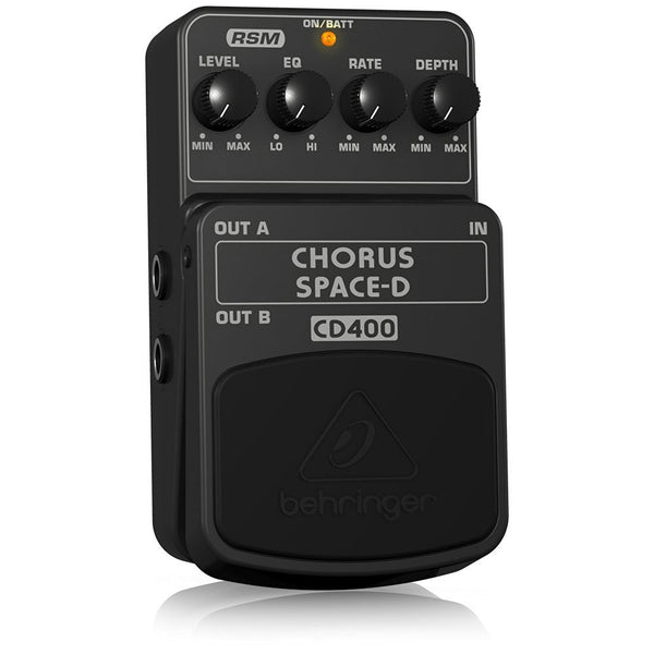 Behringer CD400 Chorus Space-D Digital 3-Dimensional Sound Effects Pedal (Refurb)