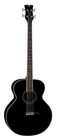 Dean Acoustic-Electric Bass, Classic Black, eab cbk (Refurb)