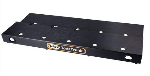T-Rex TT-CASE-70 Tone Trunk Road Case 70 with Two-Tier Medium Aluminum Pedal Board