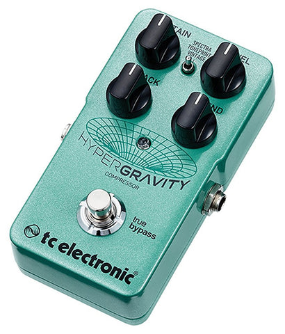 TC Electronic HyperGravity Compressor Multiband Compression Pedal