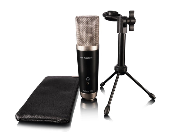 M-Audio Vocal Studio Digital Recording Bundle and USB Condenser Microphone (Refurb)