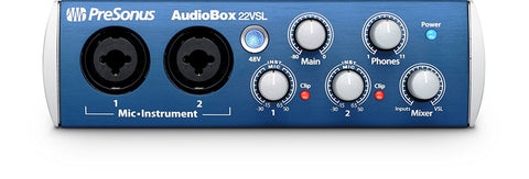 Presonus AudioBox 22VSL 24-Bit/96 kHz 2x2 USB 2.0 Audio Interface (Refurb)