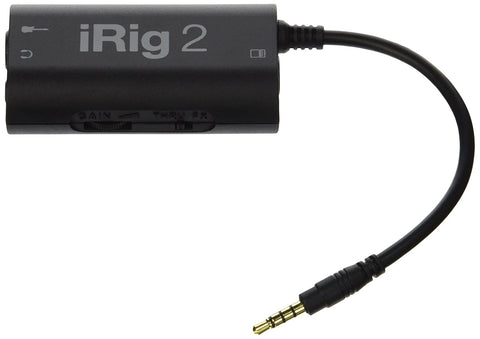 IK Multimedia iRig 2 guitar interface adaptor for iPhone, iPod touch, iPad, Mac and Android  (refurb)