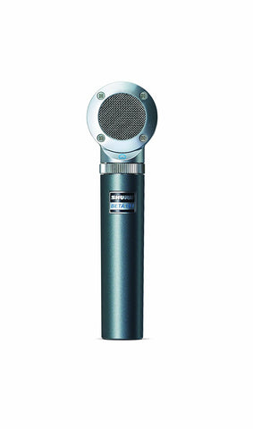 Shure BETA181/C Ultra-Compact Side-Address Instrument Microphone with Cardioid Polar Pattern Capsule (Refurb)