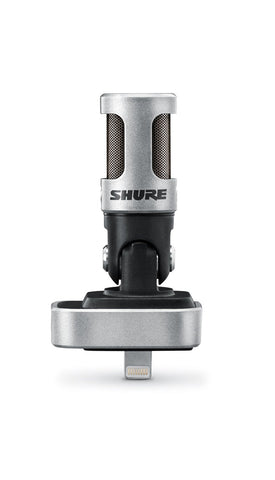 Shure MV88 iOS Digital Stereo Condenser Microphone for Iphone, Ipad lightning connector