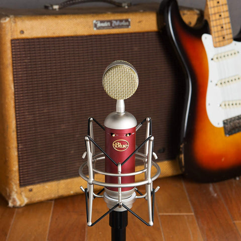 Blue Microphones Spark SL Condenser Microphone Podcast Recording bundle with Gooseneck Pop Filter, Boom Arm and XLR Cable