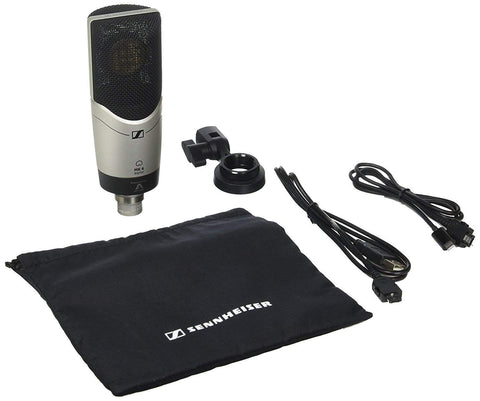Sennheiser MK4 Digital Cardioid Condenser Microphone with MKS4 Shock Mount