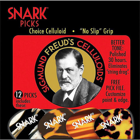 Snark Sigmund Freud Celluloid Guitar Picks .70 mm 12 Pack
