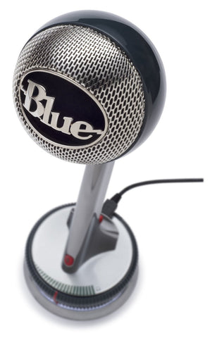 Blue Microphones NESSIE Adaptive USB Condenser Microphone, Cardioid (Refurb)