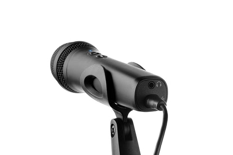 IK Multimedia iRig Mic HD 2 USB-lightening handheld digital microphone for iPhone, iPad, Mac and PC