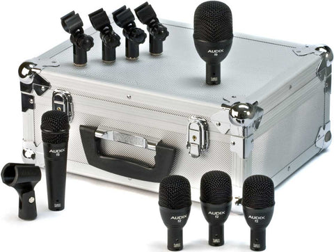 Audix FP5 Instrument Dynamic Microphone Hyper-Cardioid 5-piece Fusion Drum Pack
