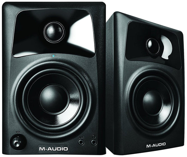 M-Audio AV32 | 10-Watt Compact Studio Monitor Speakers with 3-inch Woofer (Pair)- Refurbished