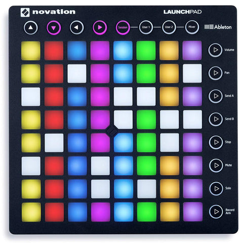 Novation LAUNCHPAD S MK2 MKII MIDI USB RGB Controller Pad+Mic+Speaker