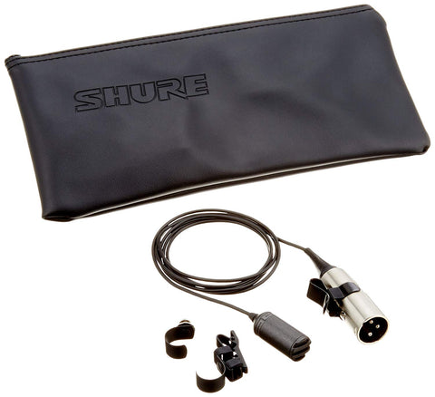 Shure SM11-CN Omnidirectional Dynamic, Lavalier, with 4' Cable with XLR Connector