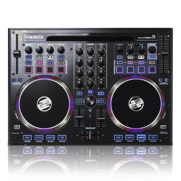 Reloop Beatpad Professional 4-Channel DJ Controller for iPad, Mac and PC (Beatpad) (Refurb)