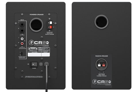 Mackie CR5BT Pair 5 inch Multimedia Bluetooth Monitor CR5 Speakers