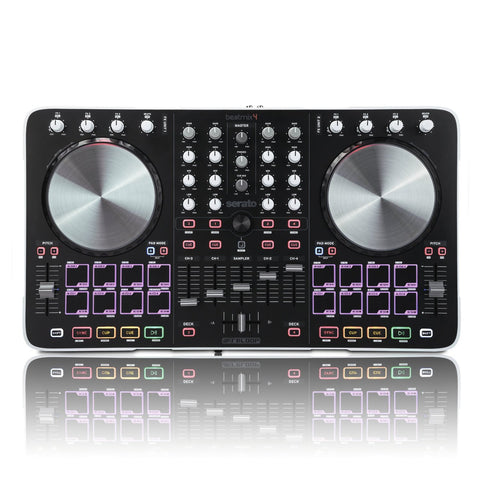 Reloop BEATMIX4 Track Controller Bundled with Serato DJ (Refurb)