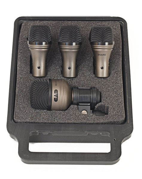 CAD DMTP4 4 Piece Mic Drum Touring Pack (Refurb)