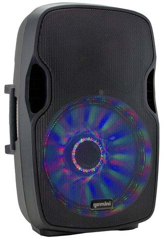 Gemini AS-15BLU-LT 15 INCH active loudspeaker with USB/SD/Bluetooth MP3 player