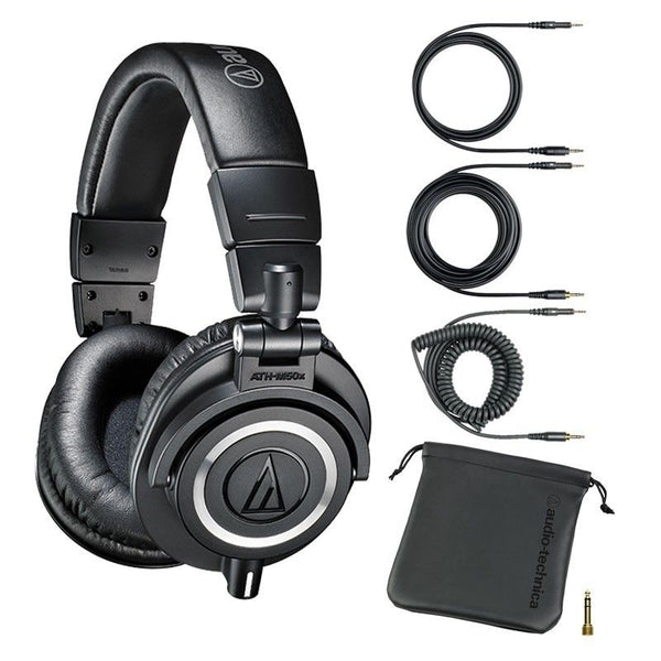 Audio-Technica ATH-M50x Closed-back Dynamic monitor headphones