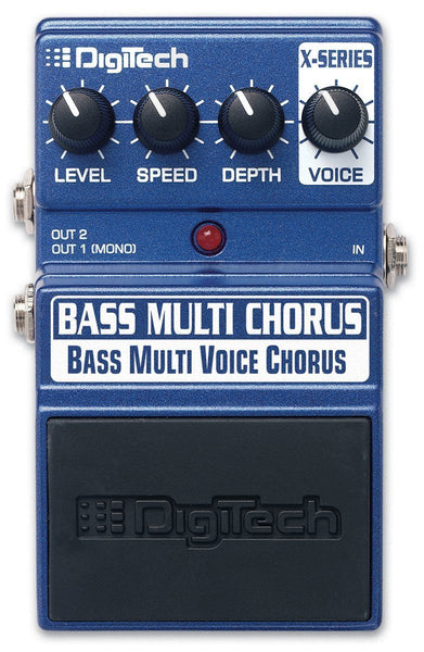 Digitech Bass Chorus - Bass Chorus, up to 16 voices