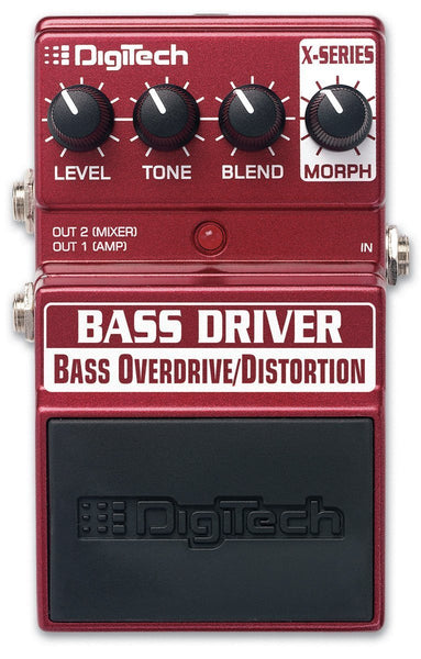 Digitech Bass Driver - Bass Overdrive/Distortion