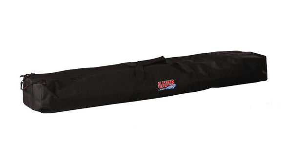 Gator GPA-88 Heavy-Duty Nylon Speaker Stand Bag; Two Compartments to Prevent Stands From Scratching