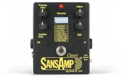 Tech 21 SansAmp SA1 Classic Amp Simulator (Refurb)