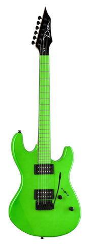 Dean Custom Zone 2 HB - Florescent Green