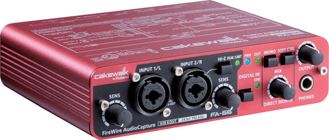 Roland Cakewalk FA-66 24-bit/192kHz FireWire Audio Interface