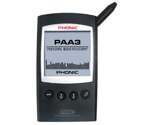 Phonic 31-Band Hand-Held Spectrum Analyzer PAA3