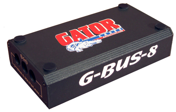 Gator Pedal Board Power Supply (G-BUS-8-US) (Refurb)