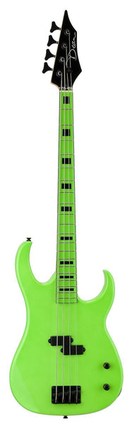 Dean Custom Zone - Nuclear Green