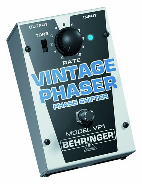 Behringer VINTAGE PHASER VP1 Authentic Vintage-Style Phase Shifter (Refurb)