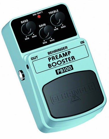Behringer PREAMP/BOOSTER PB100 Preamplifier/Volume Booster