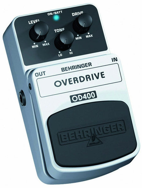 Behringer OVERDRIVE OD400 Ultimate Overdrive Effects Pedal